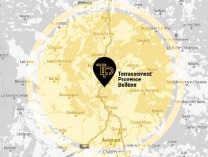 Terrassement Provence, votre spécialiste du Terrassement pour les particuliers à Bollène et dans sa région
